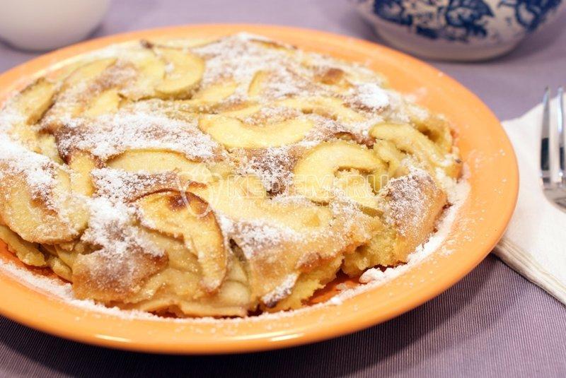 Шарлотка с яблоками – Рецепты. Рецепты выпечки. Другая выпечка