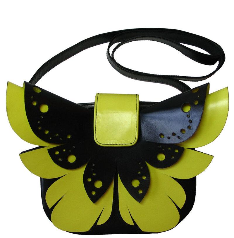 """Сумка """"Бабочка"""" в каталоге Сумки и кошельки на Uniqhand - натуральная кожа"""