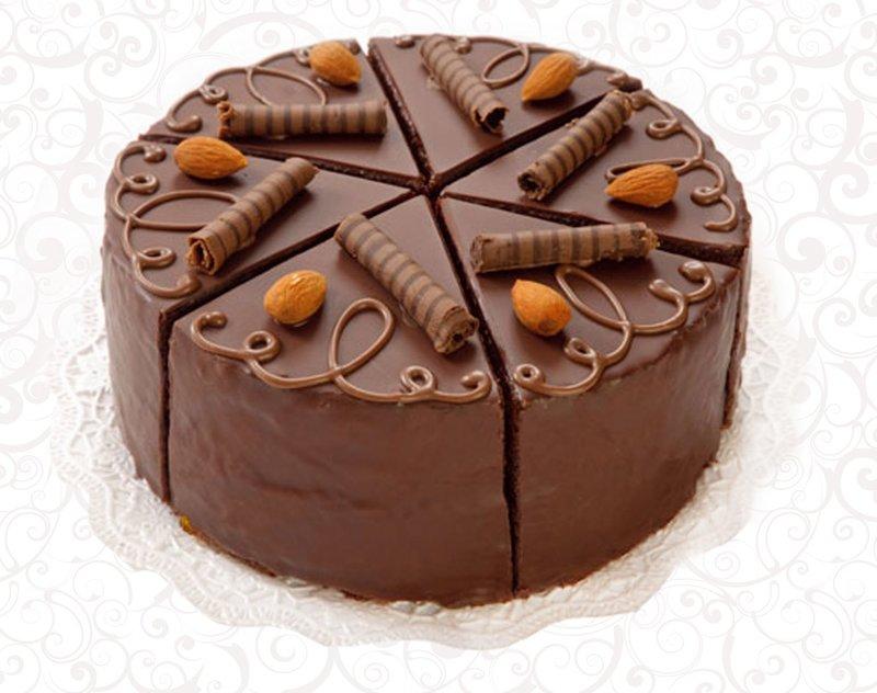 Торт «Венский Захер» от производителя, тм Мамин хлеб