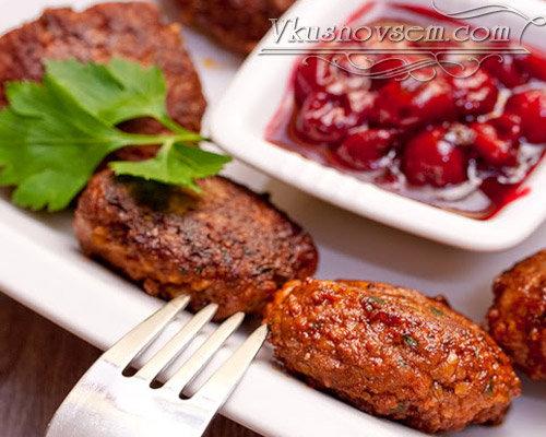 Тушеные котлеты с булгуром - Мясные блюда - Рецепты - Вкусные рецепты на каждый день