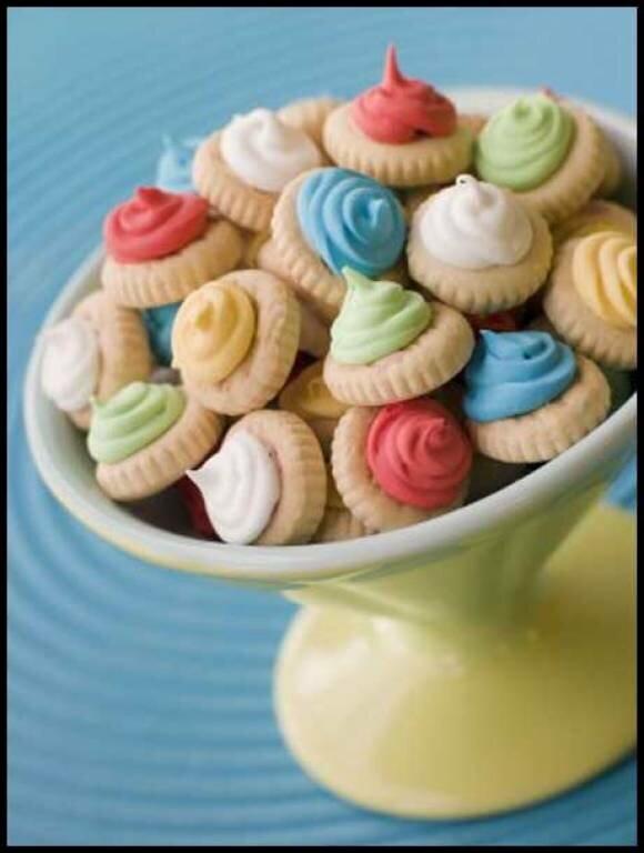 Веселое детское песочное печенье - Кулинарные рецепты от Веселого Жирафа