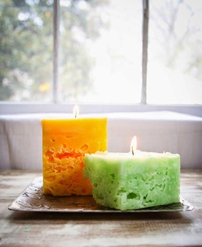 Волшебные свечи своими руками