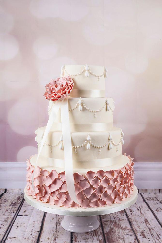 Восхитительные свадебные торты
