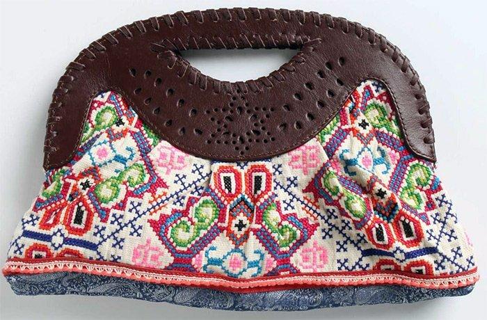 Вышивка крестом  сумочка