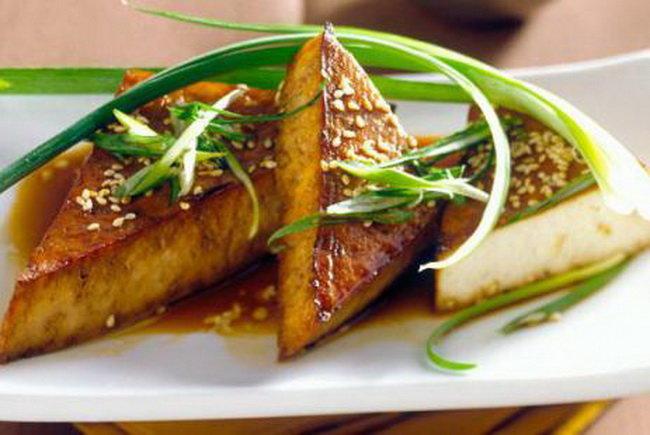 Запеченый сыр тофу - рецепт