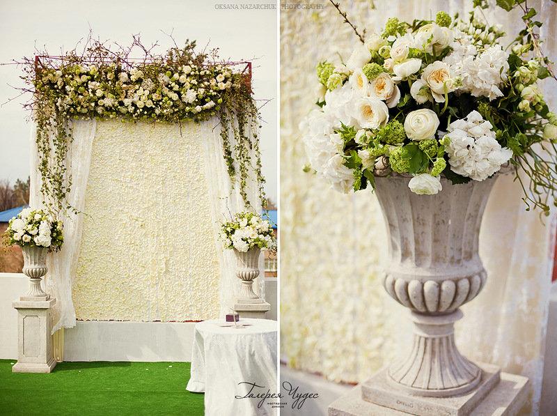 декор нежной свадьбы Наташи и Виталика :) - ♥