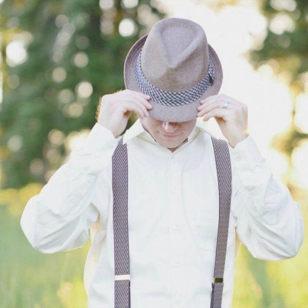 Дело в шляпе: головные уборы для жениха   Свадебныйпирог.рф