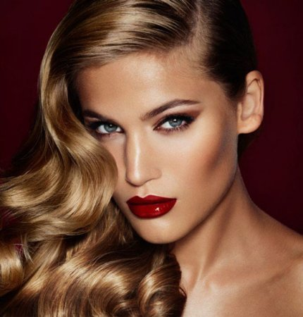 Fashion make-up for the New Year 2016