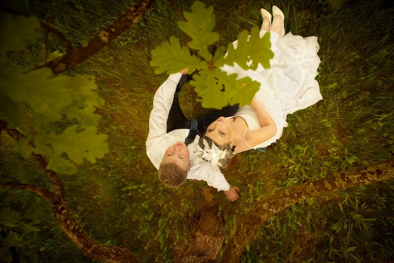 Фотография Свадебная прогулка в лесу - Павел Немзоров