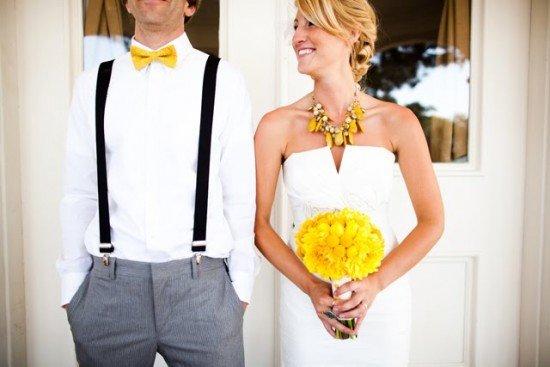 Галстук-бабочка на свадьбу