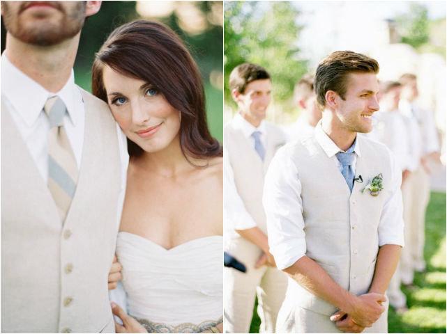 Идеи для летнего образа жениха на свадьбе