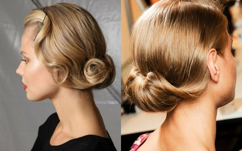 Идеи причесок на средние волосы наверх: оригинальные, лучшие, элегантные, строгие, без челки, на День рождения, работу, юбилей, на круглое лицо, для полных женщин, видео-инструкция как сделать своими руками, фото и цена