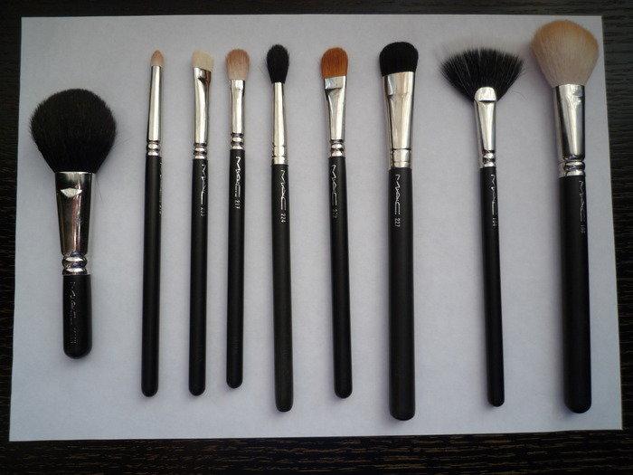 кисти для макияжа mac какая для чего