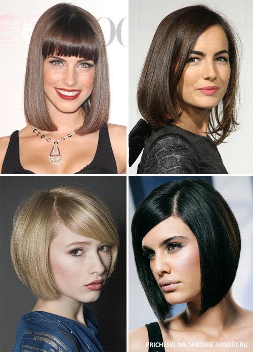. красивые укладки на средние волосы