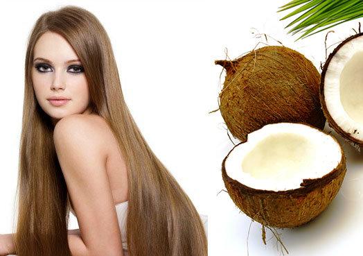 маски для волос из масла кокоса