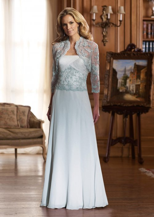 Платье на свадьбу для мамы невесты (19 фото)