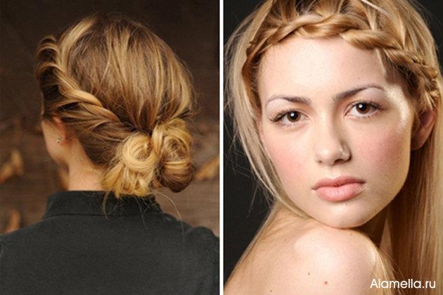 Прически на каждый день для длинных волос