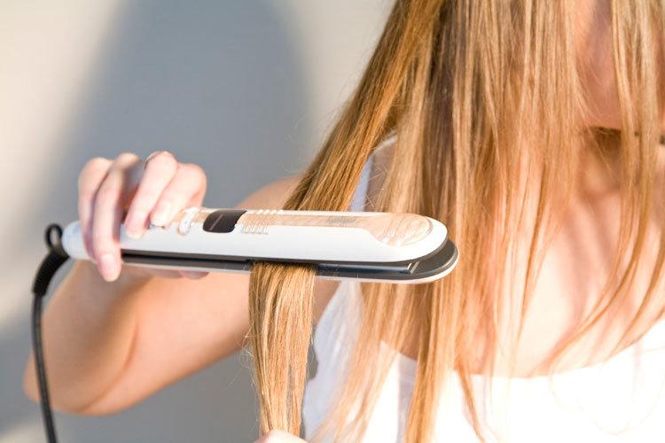 ширина пластин в утюжка для волос