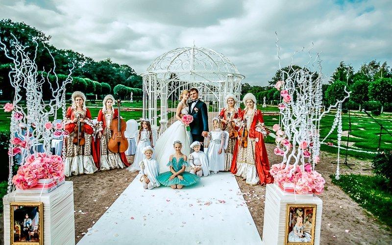 """Свадьба под ключ в СПб. Организация свадьбы под ключ в агентстве """"Артекс"""""""