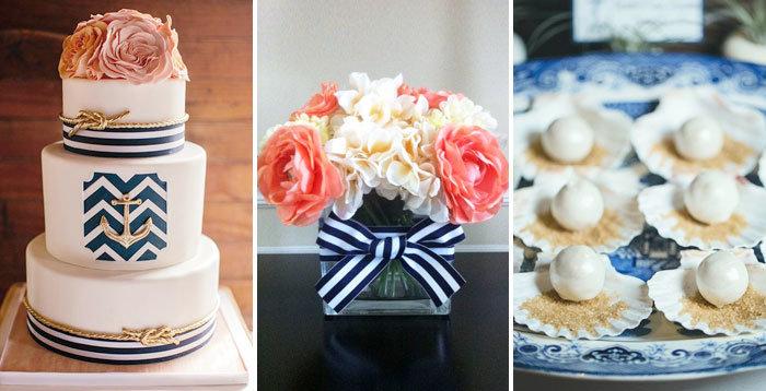 Свадьба в морском стиле - идеи оформления, аксессуары для молодых, сценарий, фото и видео