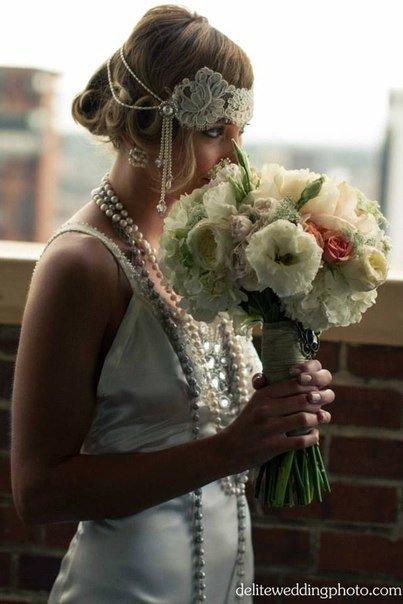 Свадьба в стиле Великий Гэтсби | Дизайн ручной работы