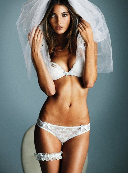 Свадебное белье от Victoria Secret