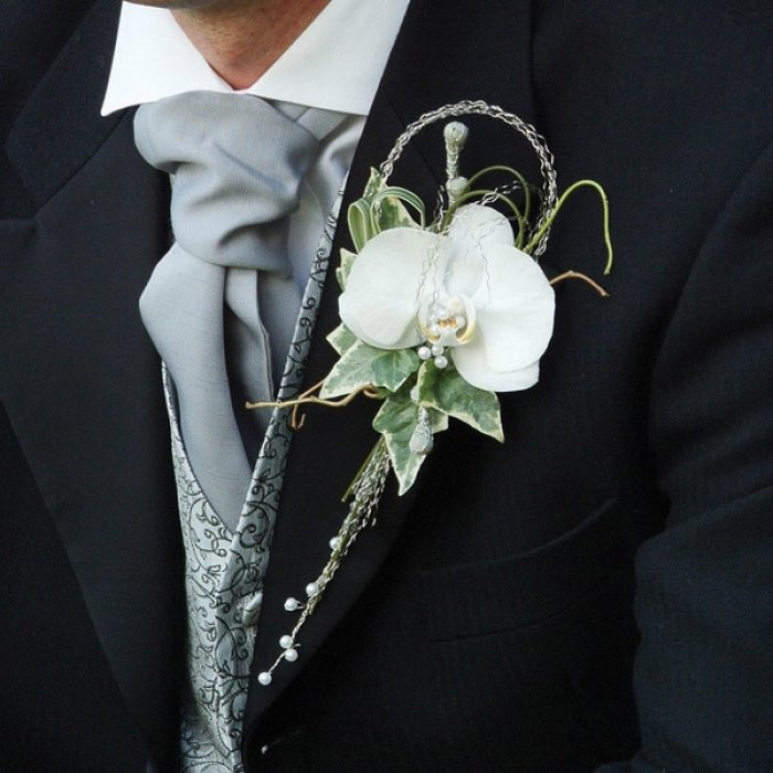 Свадебные аксессуары жениха | Костюм жениха - У Нас Свадьба