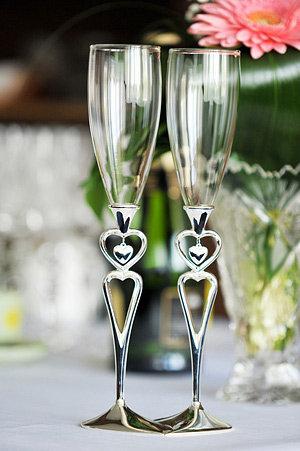 Свадебные бокалы | День свадьбы | Wedding-magazine.ru - все о свадьбе для невест!
