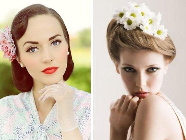 Свадебный макияж в стиле а-ля Одри Хёпберн
