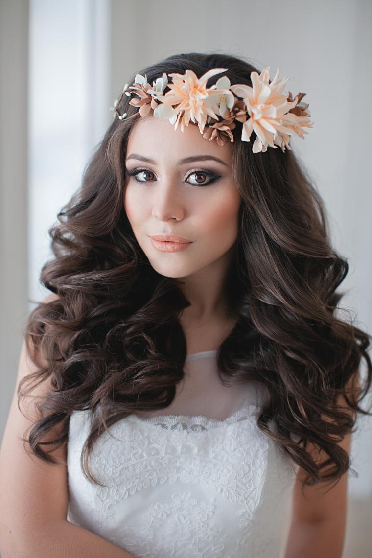 свадебный стилист, красивые прическисвадебные украшения, цветы из полимерной глины