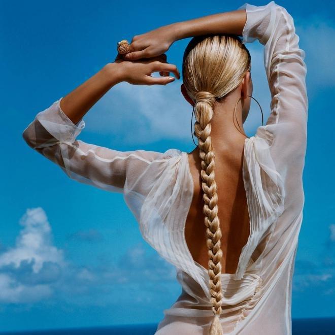 уход за волосами летом заколки