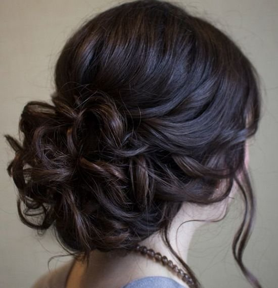 Вечерние прически на средние волосы своими руками | LS
