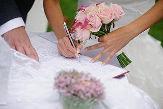 Выездная регистрация брака в минске