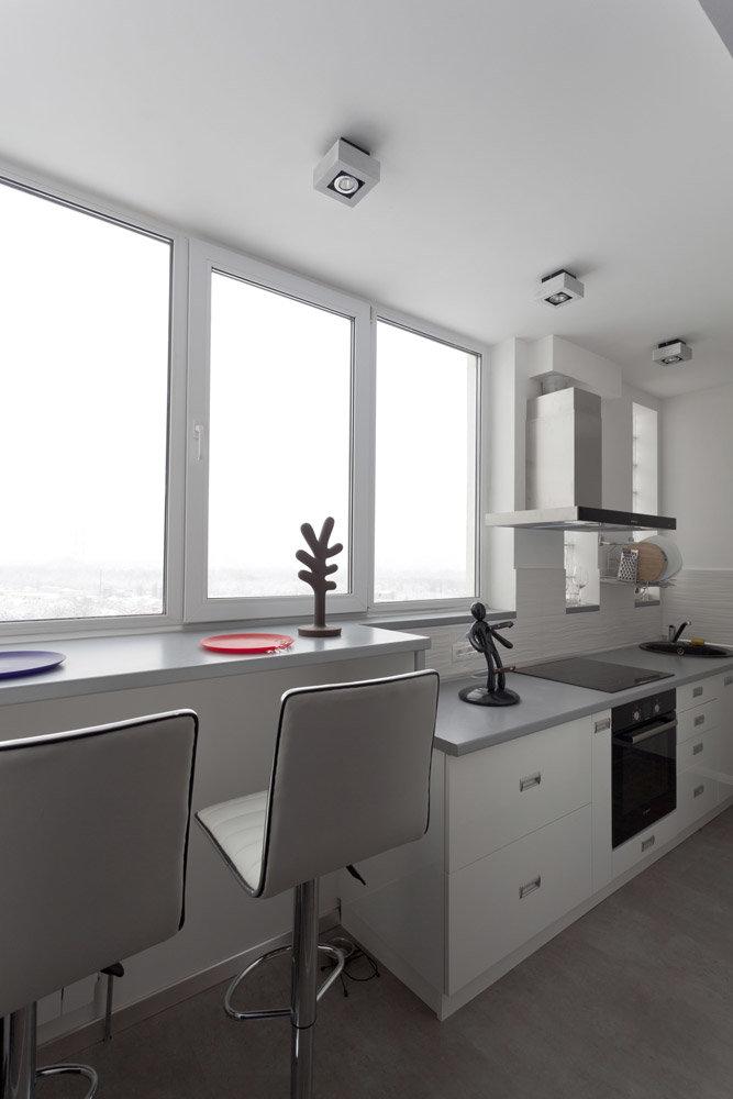 """Современная кухня на балконе"""" - карточка пользователя johnny."""