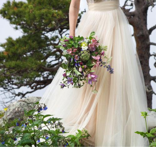 Свадебные платья А-силуэта