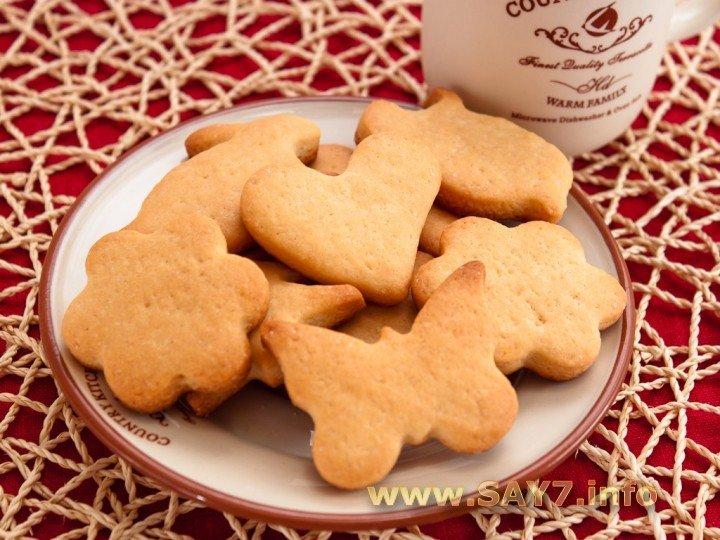 Творожное печенье фигурное рецепт