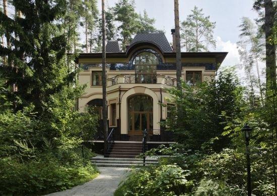 дом в стиле модерн