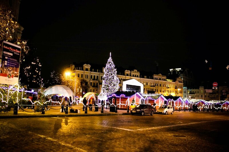 Киев ночью очень красив