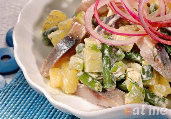 Рецепты салатов с сельдью с фото