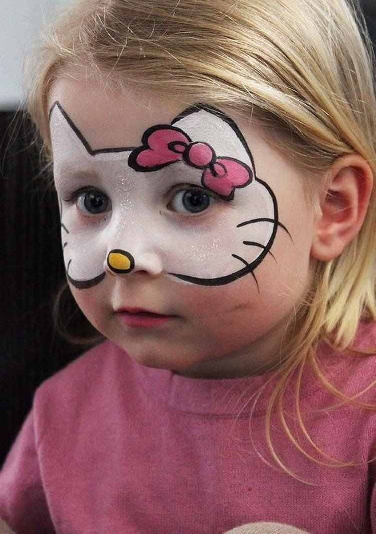 easy face painting ideas - 600×851