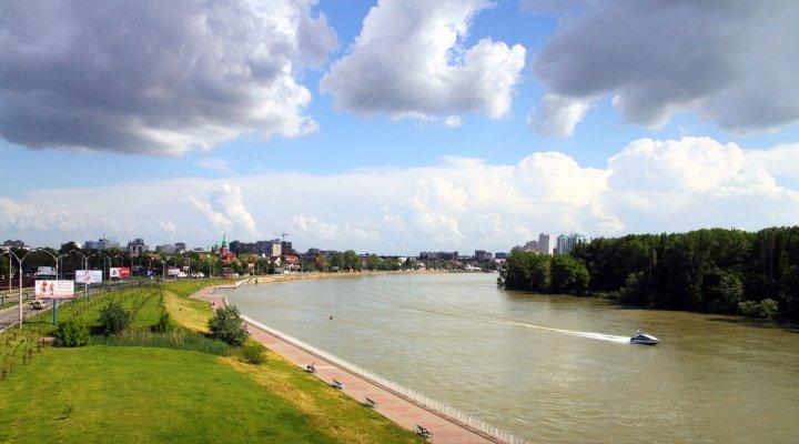 река кубань фото в краснодаре