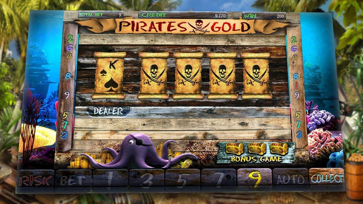 Игровой автомат пираты pirate