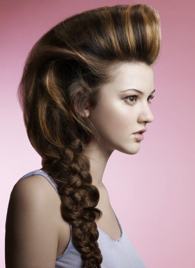Домашние прически на длинный волос фото