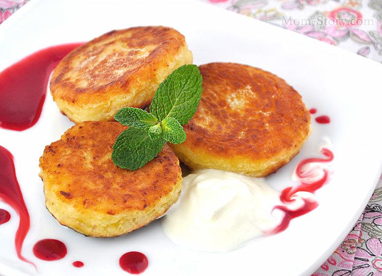 Вкусные и пышные сырники из творога рецепт пошагово