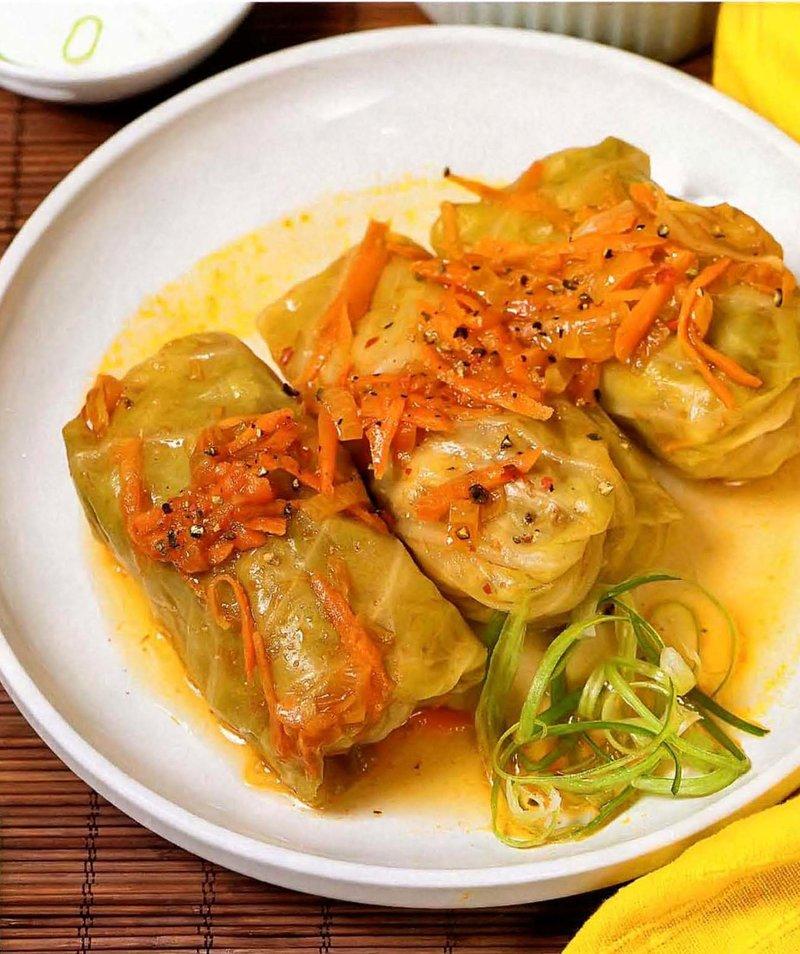 Голубцы с овощами рецепт с фото