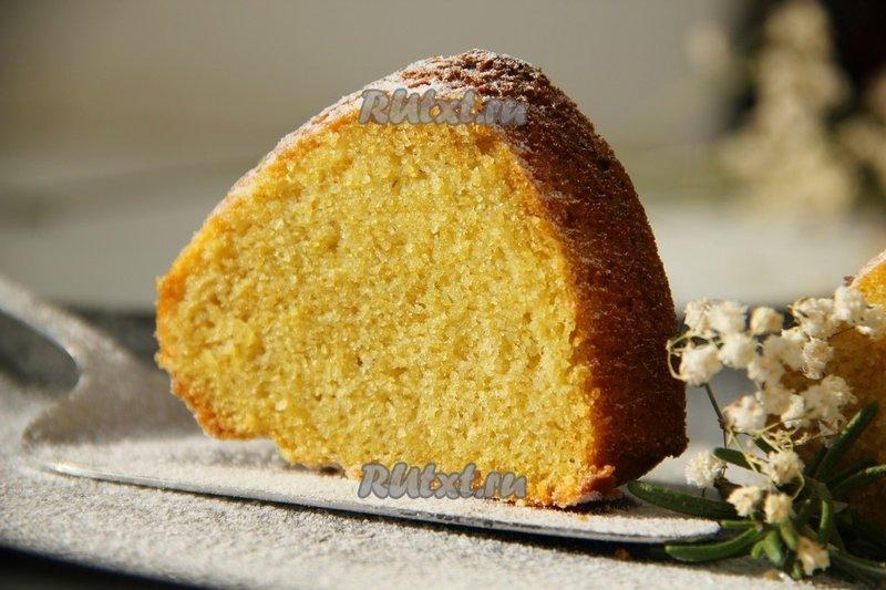 Пирог кукурузной муки рецепты фото
