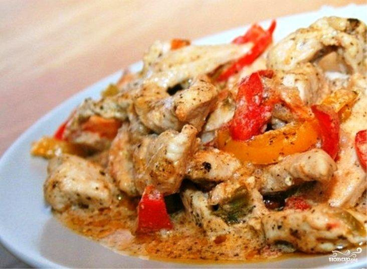 куриное филе в сливках рецепт с фото
