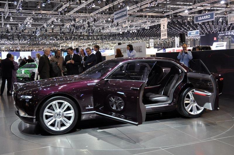 Jaguar B99 Concept Bertone 2011 Card From User Mtv98 In