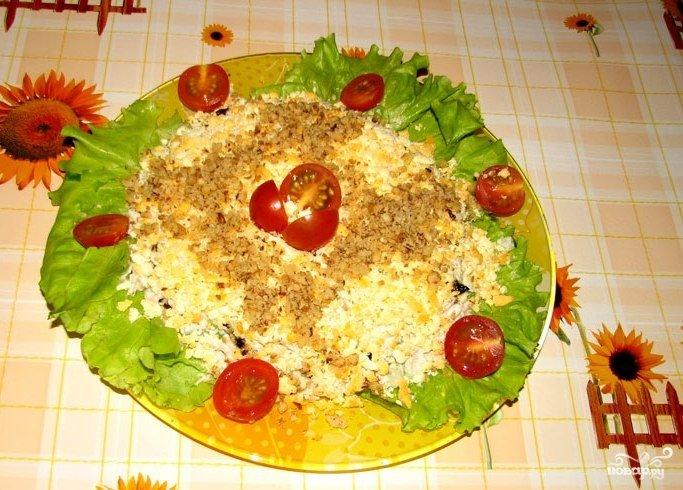 Салат женский каприз фото рецепт