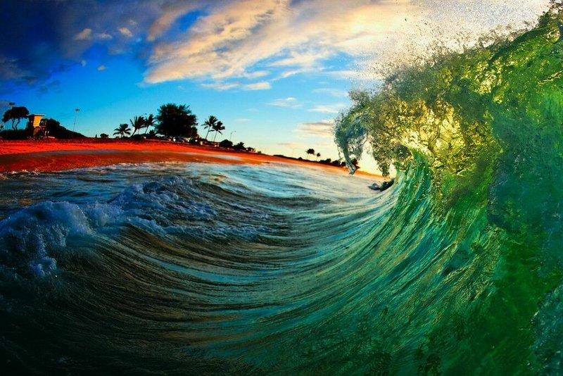 Морские волны своими руками
